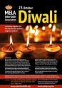 Diwali festival on October 23