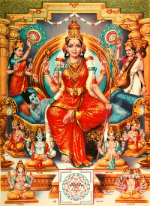 "The worship of the Goddess Tripura Sundari (""Adesh"", summer 2014)"